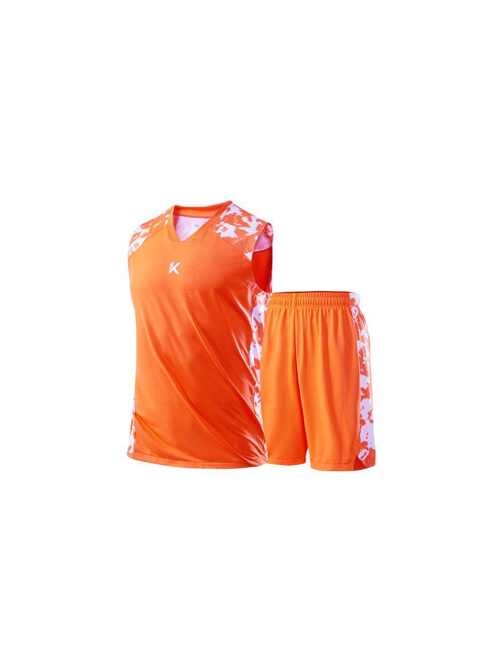 big sale f0f9b 955aa Anta Klay Thompson KT 2019 Men's Basketball Jersey & Shorts - Orange