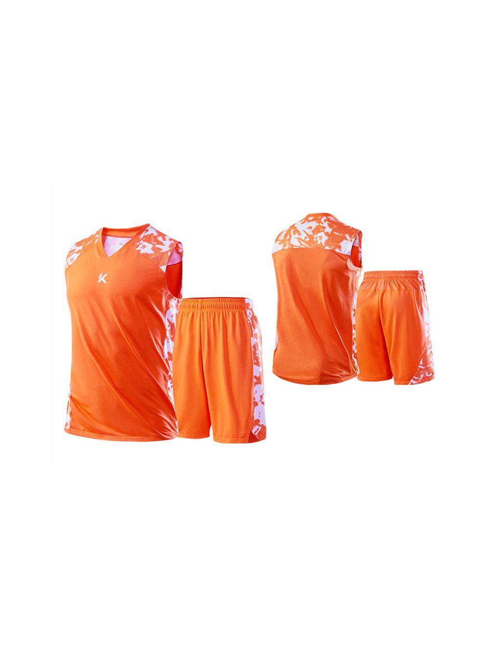 big sale 95384 d5b41 Anta Klay Thompson KT 2019 Men's Basketball Jersey & Shorts - Orange