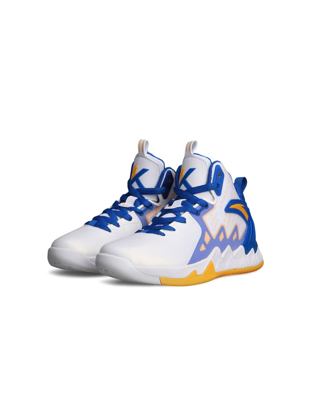 Golden State Warriors Home Basketball Shoes