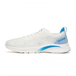Anta Flash Lite 3.0 2021 Summer Super Light Running Shoes - White/Blue