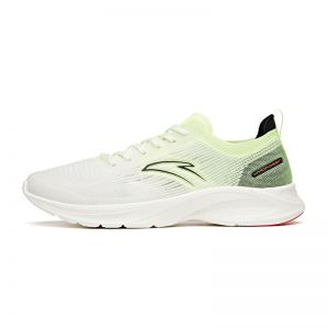 Anta Flash Lite 3.0 2021 Summer Super Light Running Shoes - White/Fluorescent Green