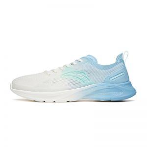 Anta Flash Lite 3.0 2021 Summer Super Light Running Shoes - White/Waterfall Blue