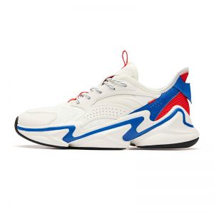 Anta 2019 Men's Walker Shoes   White/Blue Daddy Sneakers