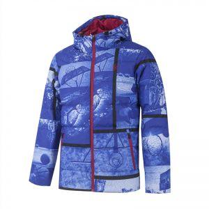 Anta Klay Thompson Men's Winter Personality Down Jackets - Blue