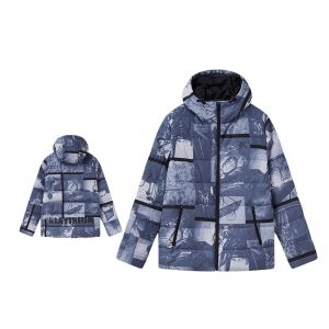 Anta Klay Thompson Men's Winter Personality Down Jackets - Grey