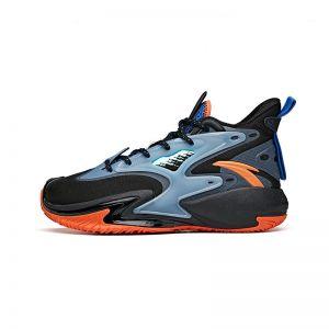 Anta Shock The Game Wave 3.0 Kids 2021 Summer High Basketball shoes - Black/Blue/Red