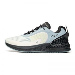 Anta C37 Plus 2021 Spring Men's Running Shoes - White/Blue/Black