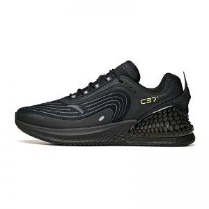Anta C37 Plus 2021 Spring Men's Running Shoes - Black
