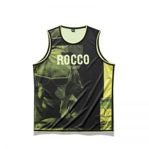 Anta Klay Thompson KT Rocco 2021 KT Knitted Basketball Vest - Black/Yellow