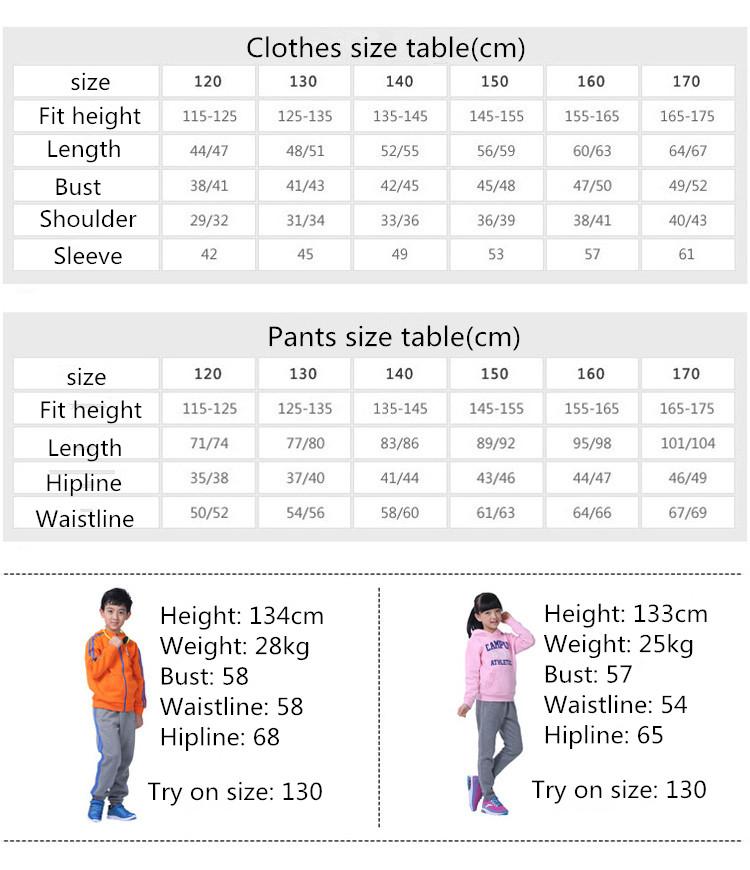 vans infant size chart